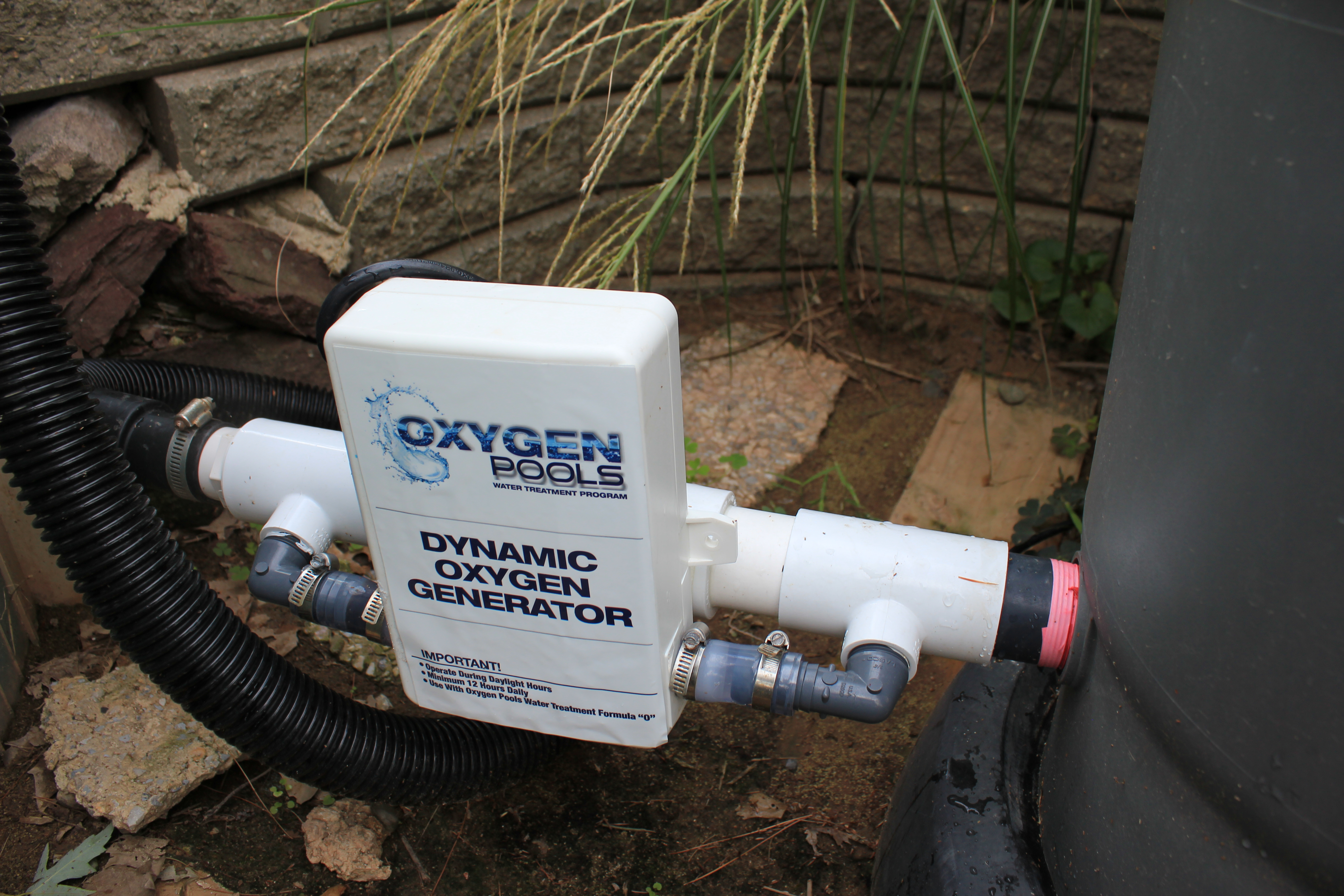 oxygen pools chlorine free water treatment
