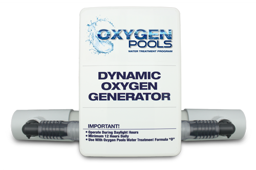 oxygen pools chlorine free water treatment ozone generator